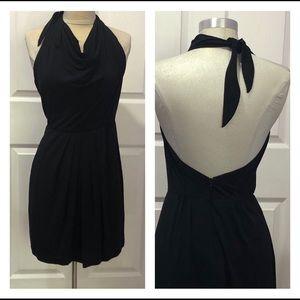 Trina Turk little black halter dress